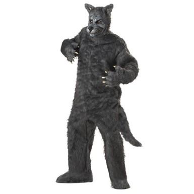 Grey Big Bad Wolf Mens Adult Halloween Costume  sc 1 st  Costume Kingdom & Big Bad Wolf Halloween Costume - Grey - Mens Halloween Costumes