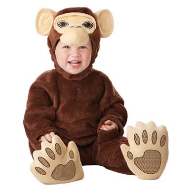 Infant Chimpanzee Baby Monkey Halloween Costume  sc 1 st  Costume Kingdom & Infant Chimp Costume Costume - Baby Monkey Halloween Costume
