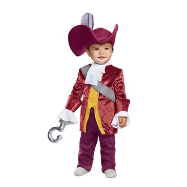 Infant Classic Disney Captain Hook Baby Costume