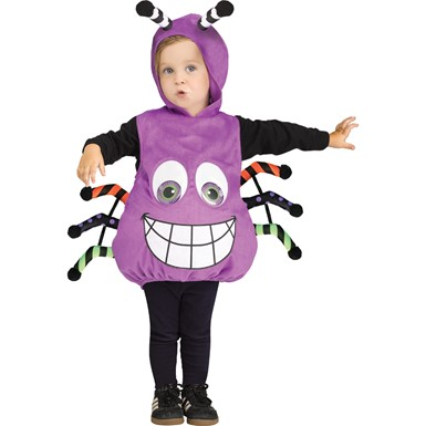 infant googly eye spider costume up to size 24 months