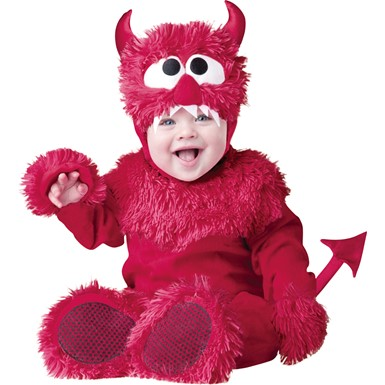Infant Lil Red Devil Halloween Costume