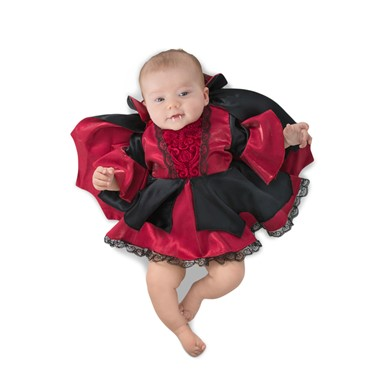 Infant Lil Victoria the Vampiress Halloween Costume