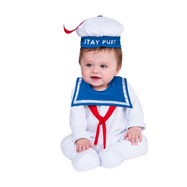 Infant Stay Puft Man Ghostbusters Costume  sc 1 st  Costume Kingdom & Funny Halloween Costumes | Funny Costumes for Kids | Costume Kingdom