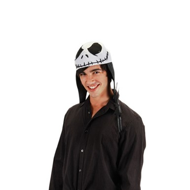 Jack Skellington Hat Movie Halloween Costume Accessory