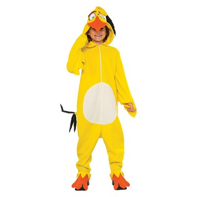 Kids Chuck Angry Birds Cozy Jumpsuit Costume