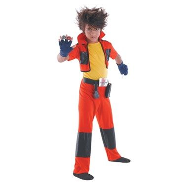 Kid's Dan Classic Bakugan Child Halloween Costume