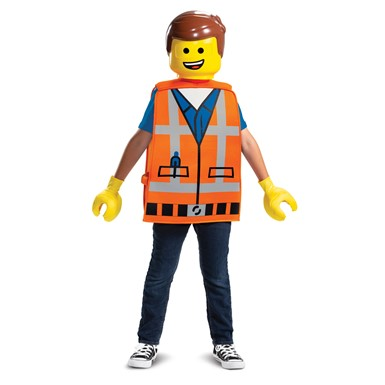 Kids Emmet LEGO Movie Costume Standard Size