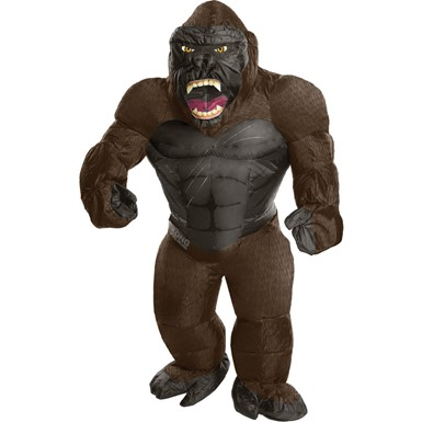 Kids Inflatable King Kong Gorilla Costume Standard Size