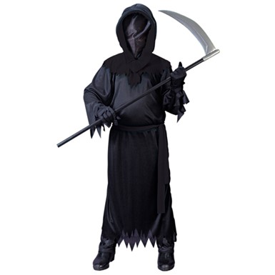 e6cb20ecfe374 Kids Phantom Costume - Black - Boys Scary Halloween Costumes