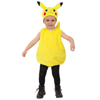 Kids Pokemon Pikachu Plush Halloween Costume