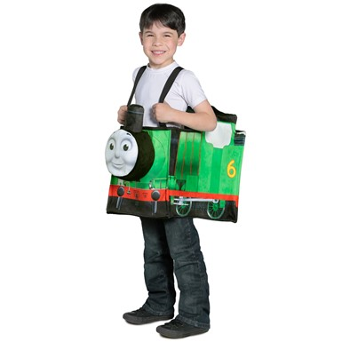 Kids Thomas Percy Ride-in Train Costume Standard Size