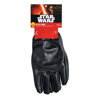 Kylo Ren Gloves Boys Star Wars Costume Gauntlets