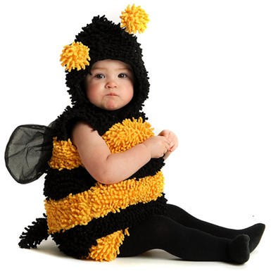 Little Bumble Bee Infant Toddler Halloween Costume