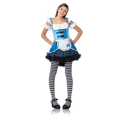 Magic Mushroom Alice Juniors Halloween Costume