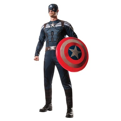 Mens Captain America Stealth Suit Costume