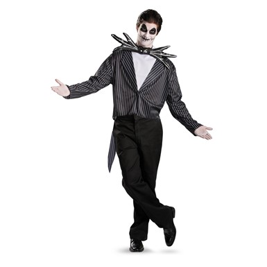 Mens Classic Jack Skellington Adult Costume