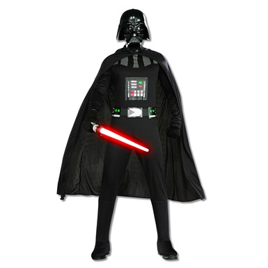 Mens Classic Star Wars Darth Vader Costume