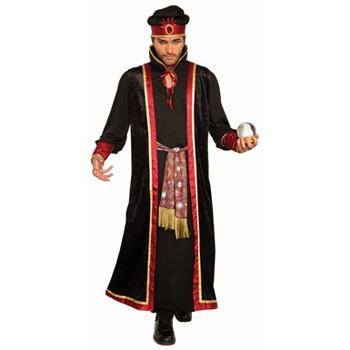 Mens Dark Fortune Teller Jafar Disney Costume
