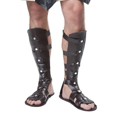 Mens Gladiator Sandals Halloween Costume Accessory