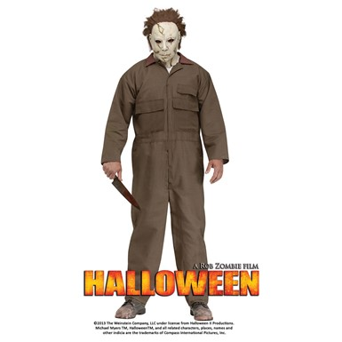 Mens Halloween Michael Myers Costume Standard Size