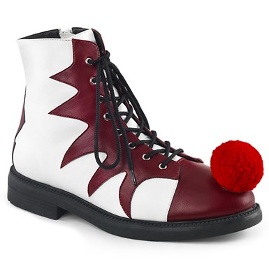 Mens It Pennywise Clown Lace-Up Ankle Boots