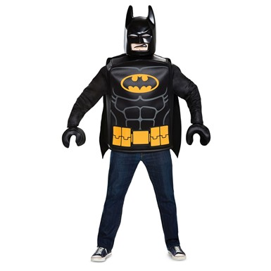 Mens LEGO Batman Movie Classic Halloween Costume