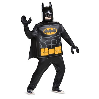 Mens LEGO Batman Movie Deluxe Halloween Costume