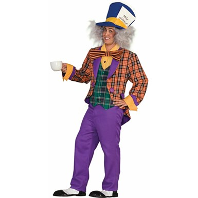 Mens Mad Hatter Halloween Costume