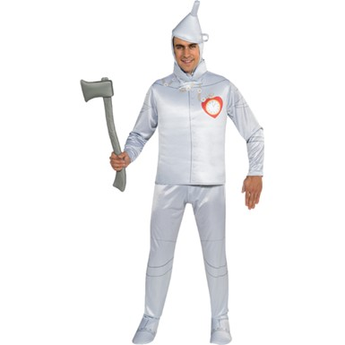 Mens Oz Tin Man Deluxe Halloween Costume size Standard 42-46  sc 1 st  Costume Kingdom & Wizard of Oz Costumes | Dorothy Tin Man Scarecrow u0026 Cosplay ...