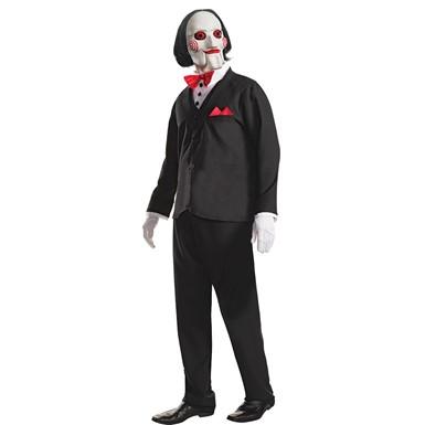 Mens Saw Movie Billy Jigsaw Costume  sc 1 st  Costume Kingdom & Jigsaw Deluxe Adult Costume - Saw Movie Billy Costume