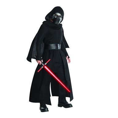 Mens Super Deluxe Kylo Ren Star Wars Costume