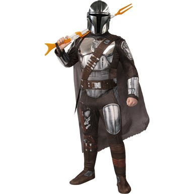 Mens The Mandalorian Beskar Armor Star Wars Costume