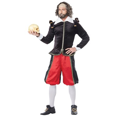 Mens William Shakespeare Renaissance Costume  sc 1 st  Costume Kingdom & Mens William Shakespeare Halloween Costume u2013 Renaissance Costumes ...