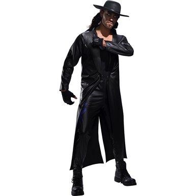Mens WWE Deluxe The Undertaker Adult Halloween Costume