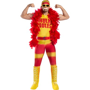 Mens WWE Hulk Hogan Adult Halloween Costume