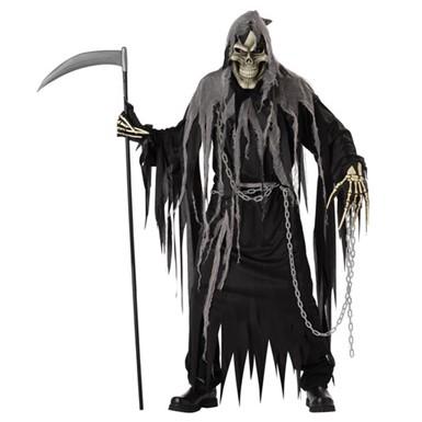 24a1424279 Adult Grim Reaper Costume - Mens Halloween Costumes