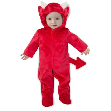 Newborn Baby Devil Romper Halloween Costume