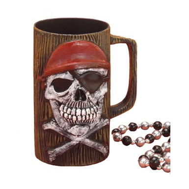 Pirate Beer Mug Halloween Costume Accessory