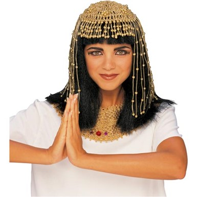 Queen Cleopatra Egyptian Mesh Headpiece for Costume