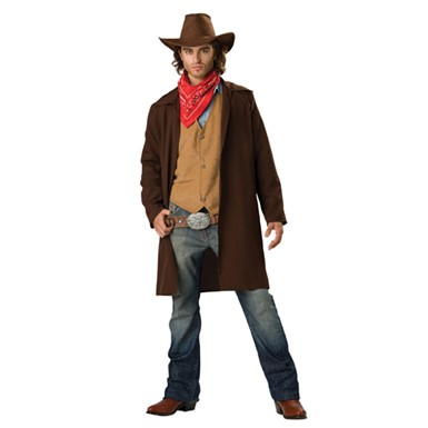 Rawhide Renegade Mens Cowboy Halloween Costume