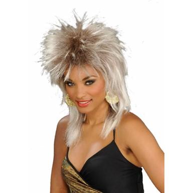 80s Blonde Wig Tina Turner Adult Halloween Costumes