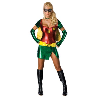 Sexy Female Robin Polyester Halloween Costume