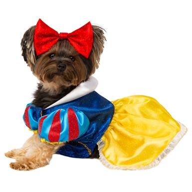 Snow White Disney Princess Pet Halloween Costume  sc 1 st  Costume Kingdom & Snow White Pet Halloween Costume u2013 Snow White Costume for dogs ...