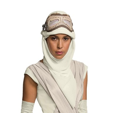 Star Wars Rey Hero Eye Mask with Hood Costume Accessory