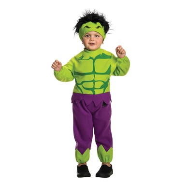 toddler hulk halloween marvel costume size 2t 4t