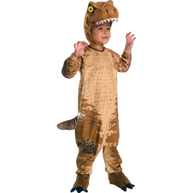 toddler jurassic world t rex halloween costume