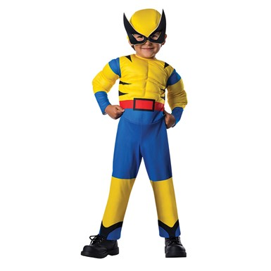 Toddler Little Wolverine Halloween Costume Size 2T-4T