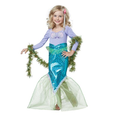 Toddler Magical Mermaid Halloween Costume