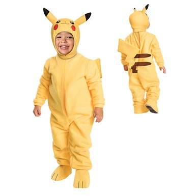 toddler pikachu pokemon romper costume size 2t