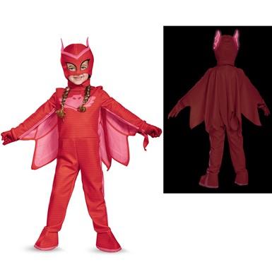 Toddler PJ Masks Deluxe Owlette Costume  sc 1 st  Costume Kingdom & Toddler PJ Masks Deluxe Owlette Costume u2013 PJ Masks Halloween Costumes
